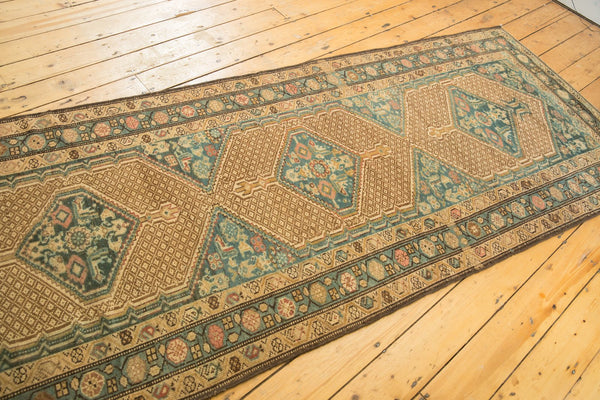 Vintage Distressed Serab Rug Runner / Item sm001376 image 7