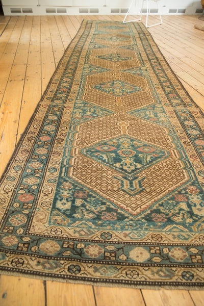 Vintage Distressed Serab Rug Runner / Item sm001376 image 8