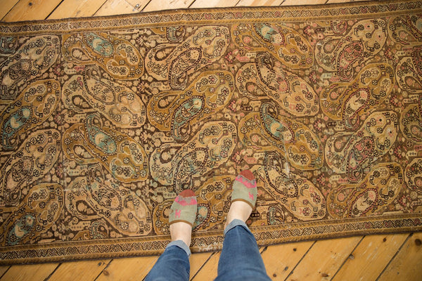 Vintage Distressed Malayer Rug Runner / Item sm001403 image 2