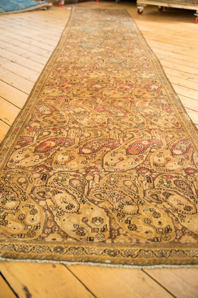 Vintage Distressed Malayer Rug Runner / Item sm001403 image 4
