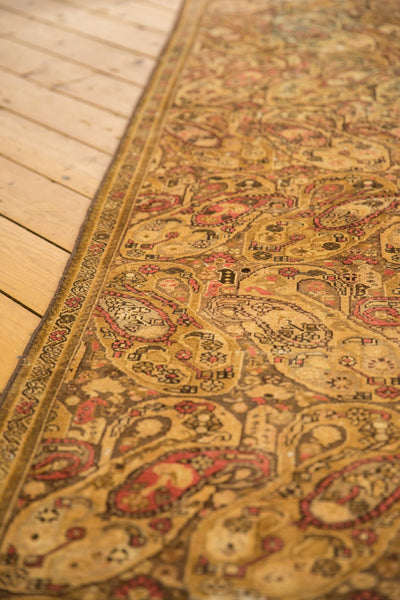 Vintage Distressed Malayer Rug Runner / Item sm001403 image 5