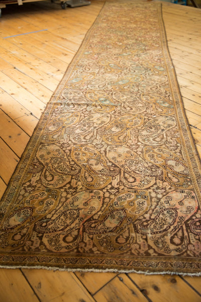 Vintage Distressed Malayer Rug Runner / Item sm001403 image 10