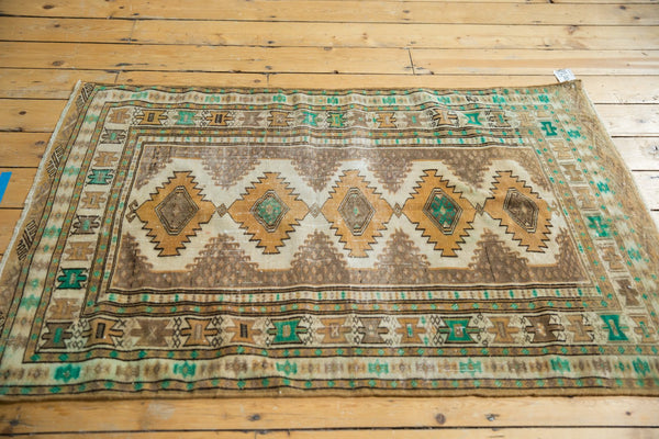 Vintage Distressed Jaldar Rug