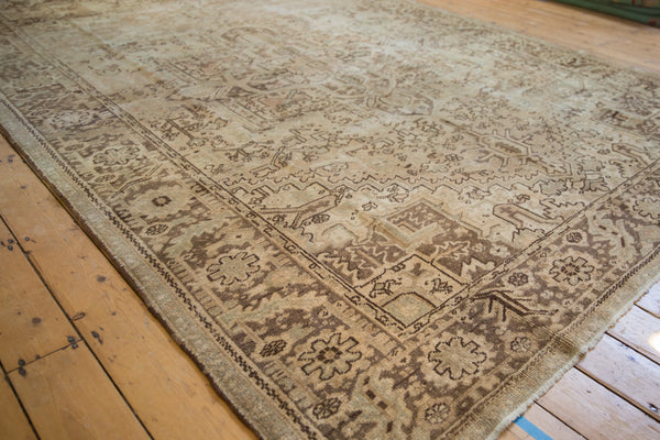 Vintage Distressed Heriz Carpet / Item sm001410 image 3