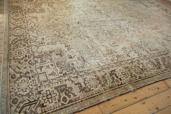 Vintage Distressed Heriz Carpet / Item sm001410 image 5