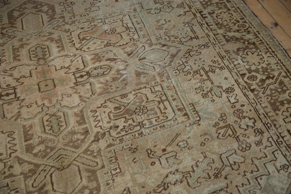 Vintage Distressed Heriz Carpet / Item sm001410 image 11