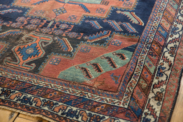 Antique Afshar Square Rug / Item sm001420 image 4