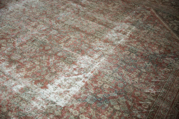 Vintage Distressed Mahal Square Carpet / Item sm001426 image 7
