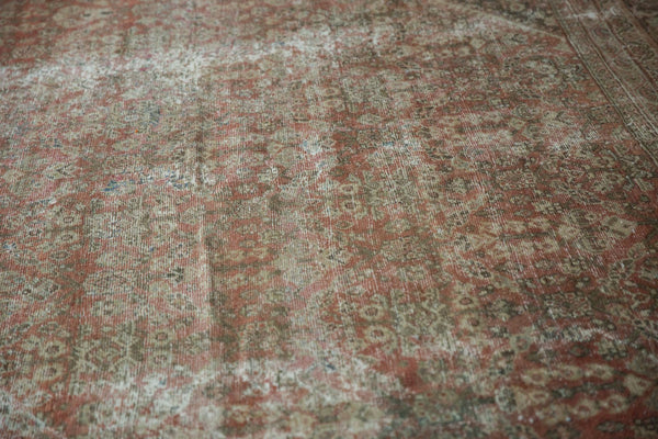 Vintage Distressed Mahal Square Carpet / Item sm001426 image 9