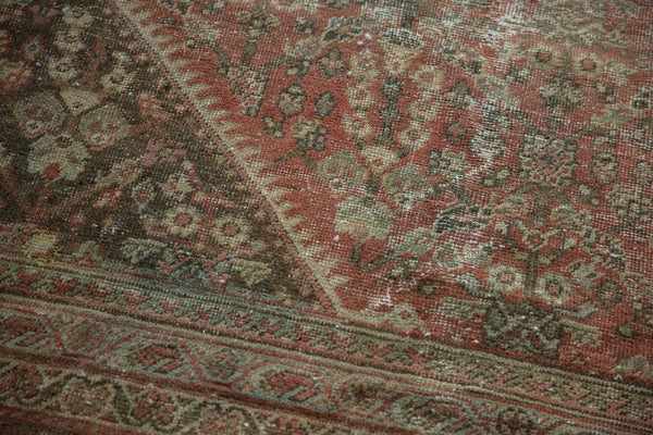 Vintage Distressed Mahal Square Carpet / Item sm001426 image 10