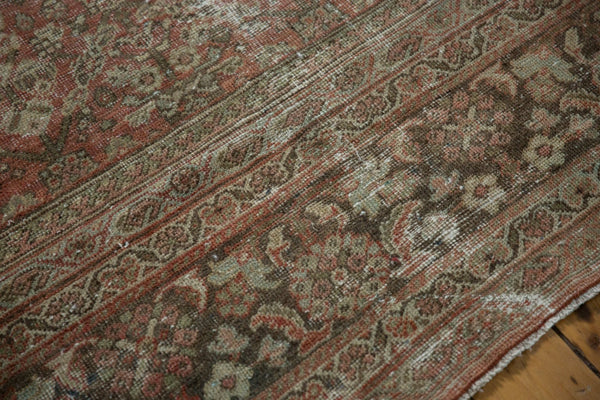 Vintage Distressed Mahal Square Carpet / Item sm001426 image 12