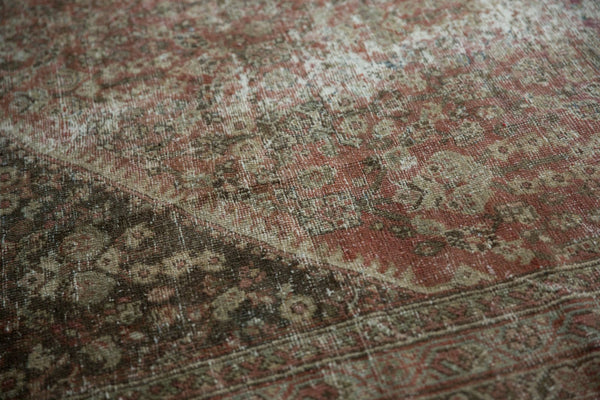 Vintage Distressed Mahal Square Carpet / Item sm001426 image 14