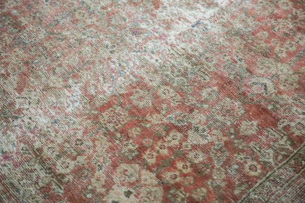 Vintage Distressed Mahal Square Carpet / Item sm001426 image 15