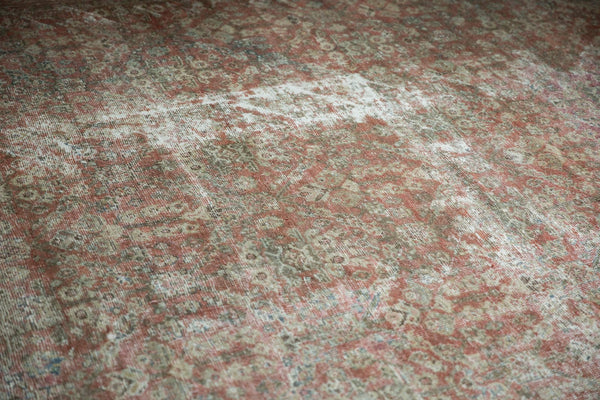 Vintage Distressed Mahal Square Carpet / Item sm001426 image 16