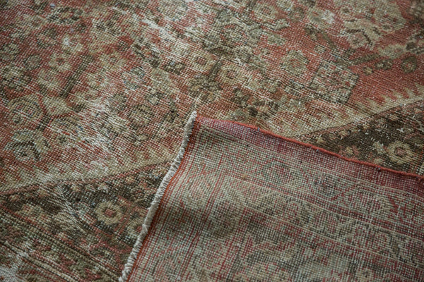 Vintage Distressed Mahal Square Carpet / Item sm001426 image 17