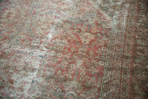 Vintage Distressed Mahal Square Carpet / Item sm001426 image 18