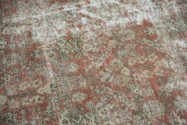 Vintage Distressed Mahal Square Carpet / Item sm001426 image 20