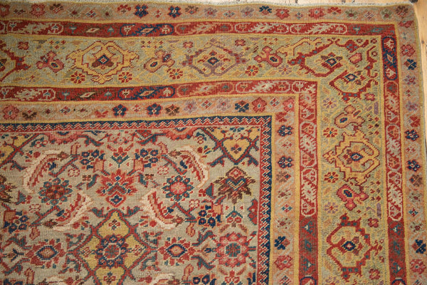 Antique Distressed Malayer Rug Runner / Item sm001458 image 3
