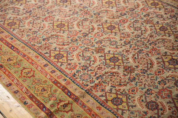 Antique Distressed Malayer Rug Runner / Item sm001458 image 7