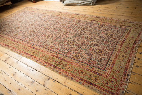 Antique Distressed Malayer Rug Runner / Item sm001458 image 8