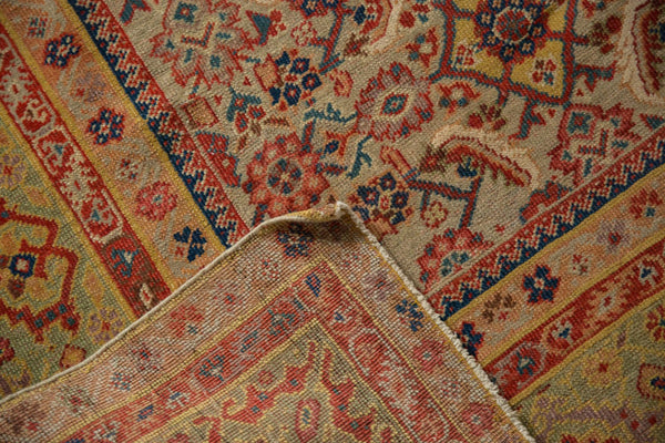 Antique Distressed Malayer Rug Runner / Item sm001458 image 10