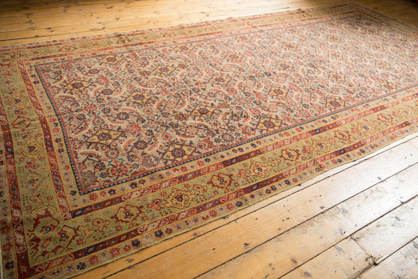 Antique Distressed Malayer Rug Runner / Item sm001458 image 11