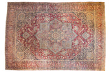 Antique Kerman Carpet / ONH item sm001463