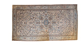 Vintage Distressed Heriz Carpet / ONH item sm001464
