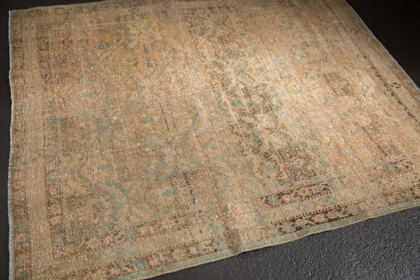 Vintage Distressed Northwest Persian Square Rug / ONH item sm001480 image 2