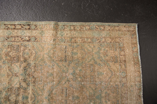 Vintage Distressed Northwest Persian Square Rug / ONH item sm001480 image 8