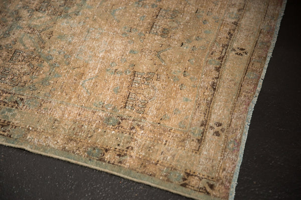 Vintage Distressed Northwest Persian Square Rug / ONH item sm001480 image 10