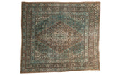 Vintage Distressed Bibikabad Square Carpet / ONH item sm001484