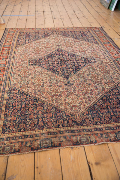 Antique Senneh Rug / ONH item sm001486 image 4