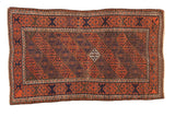 Antique Belouch Rug / ONH item sm001487