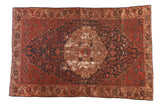 Antique Malayer Rug / ONH item sm001488