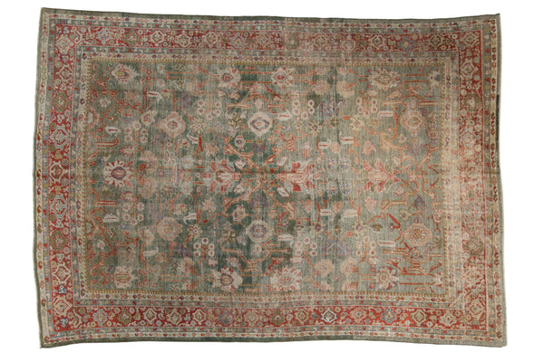 Vintage Distressed Mahal Carpet / ONH item sm001503