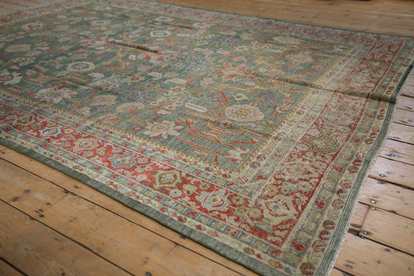 Vintage Distressed Mahal Carpet / ONH item sm001503 Image 2