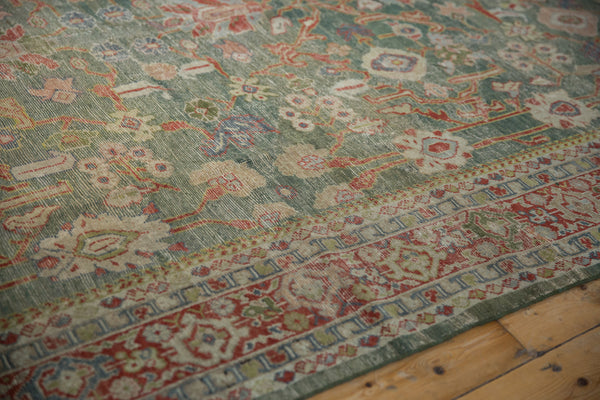 Vintage Distressed Mahal Carpet / ONH item sm001503 Image 5
