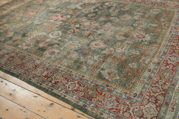 Vintage Distressed Mahal Carpet / ONH item sm001503 Image 6