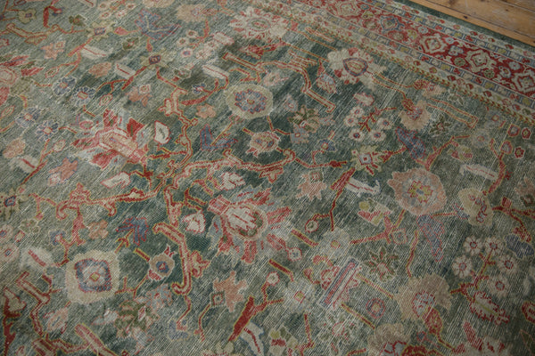 Vintage Distressed Mahal Carpet / ONH item sm001503 Image 8