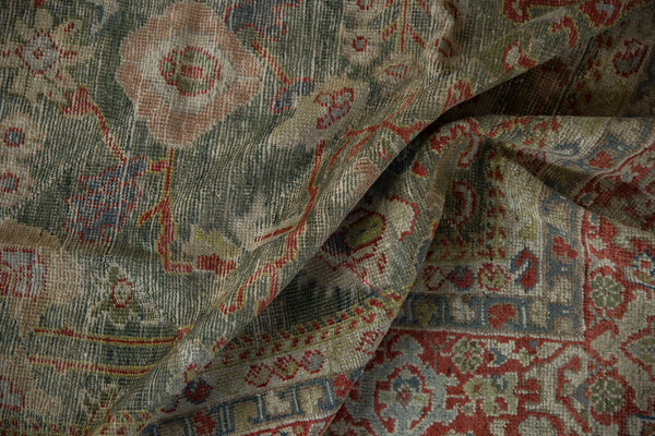 Vintage Distressed Mahal Carpet / ONH item sm001503 Image 9