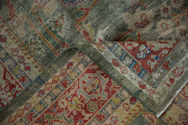 Vintage Distressed Mahal Carpet / ONH item sm001503 Image 10