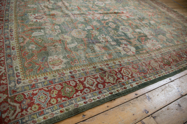 Vintage Distressed Mahal Carpet / ONH item sm001503 Image 11
