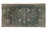 Vintage Distressed Fragment Kashan Rug / ONH item sm001508