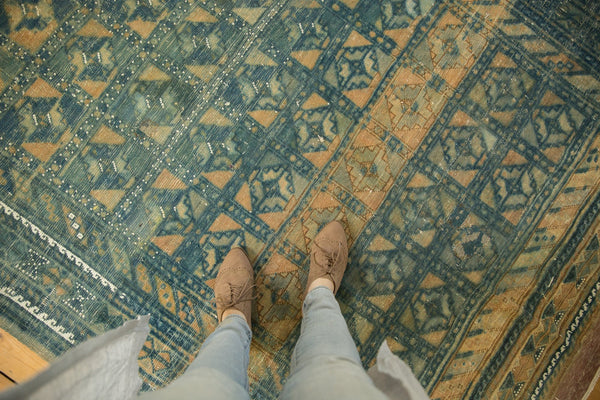 Vintage Distressed Belouch Carpet / ONH item sm001514 Image 1