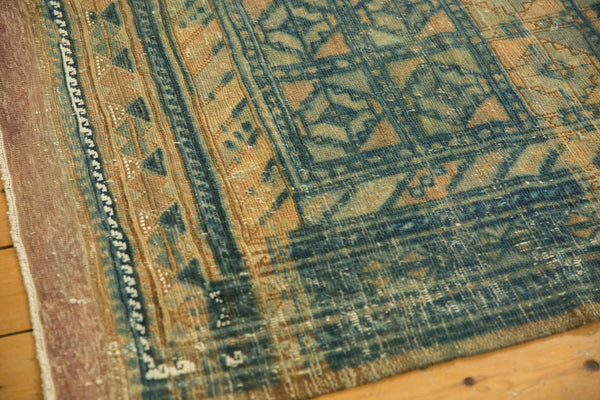 Vintage Distressed Belouch Carpet / ONH item sm001514 Image 3