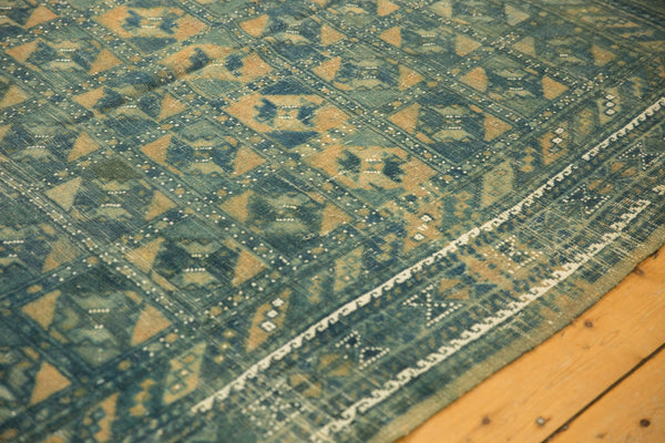 Vintage Distressed Belouch Carpet / ONH item sm001514 Image 4