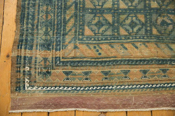 Vintage Distressed Belouch Carpet / ONH item sm001514 Image 5