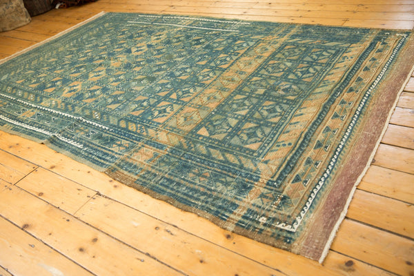 Vintage Distressed Belouch Carpet / ONH item sm001514 Image 6