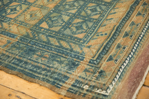Vintage Distressed Belouch Carpet / ONH item sm001514 Image 7